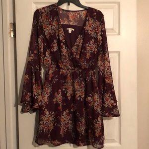 Fall Dress from Francesca's